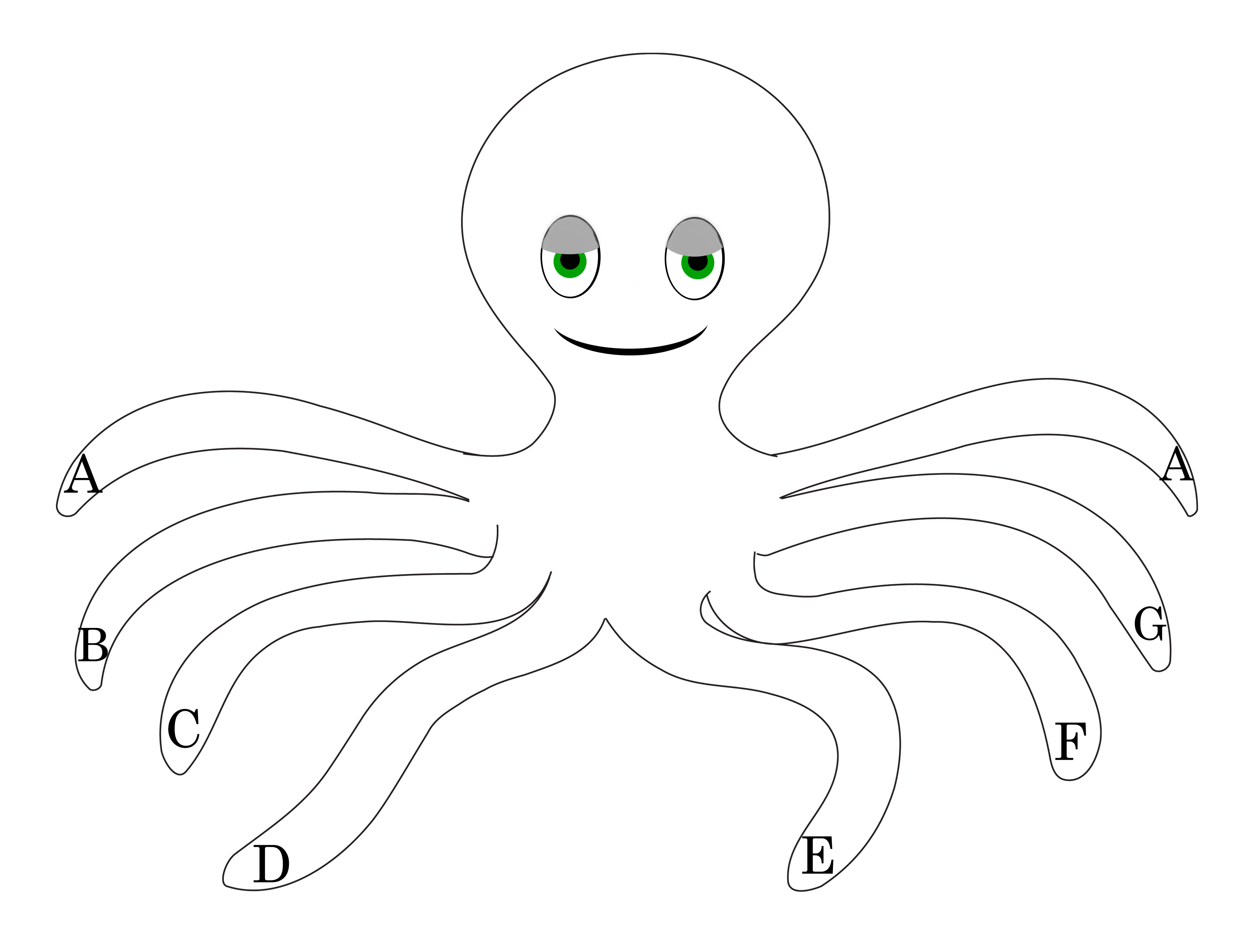 octopus coloring pages and activities - photo#19